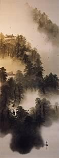 写真:横山大観 《煙寺晩鐘》 大正4(1915)
