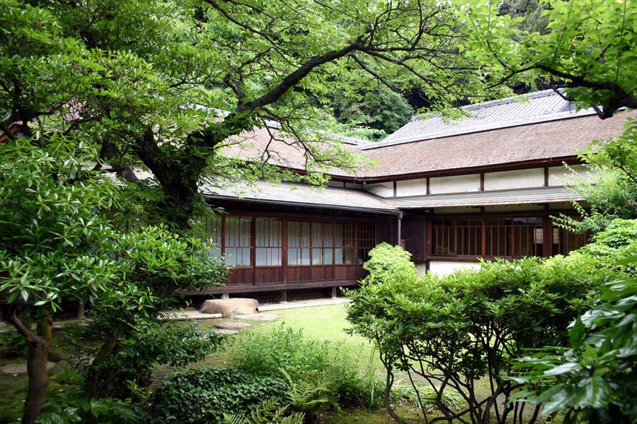요코하마시지정유형문화재 하쿠운테이